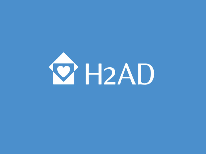 Logo H2AD par Patrick Brossollet Ideas