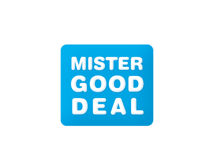 Logo Mister Good Deal par Patrick Brossollet IDEAS