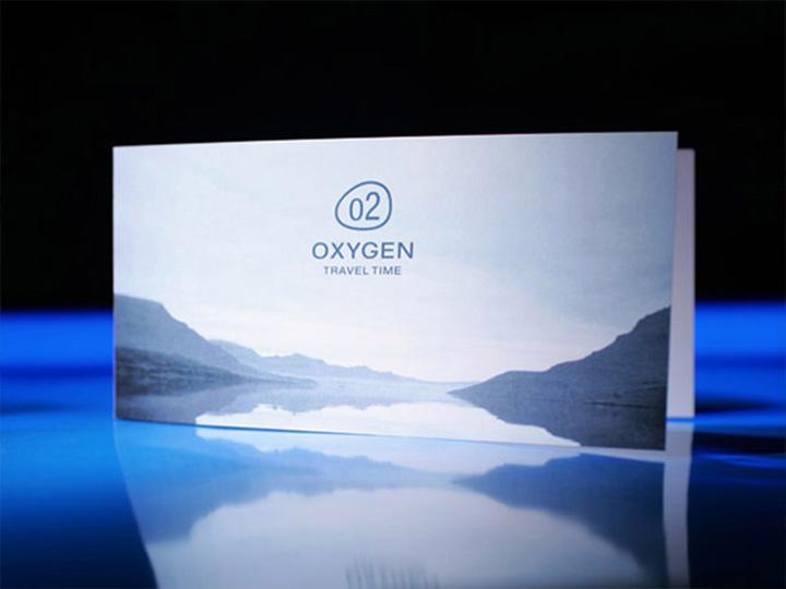 Identité visuelle d'Oxygen par Patrick Brossollet IDEAS