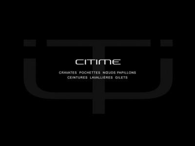 Identité de marque Citime par Patrick Brossollet