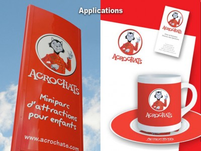 Applications Acrochats et goodies