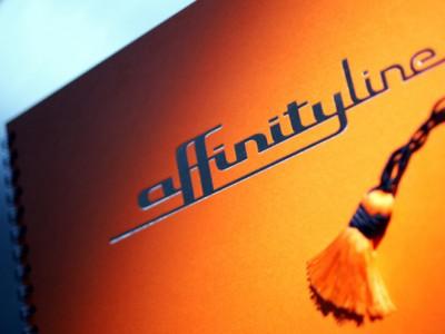 Identité visuelle Affinity Line, metro dubai