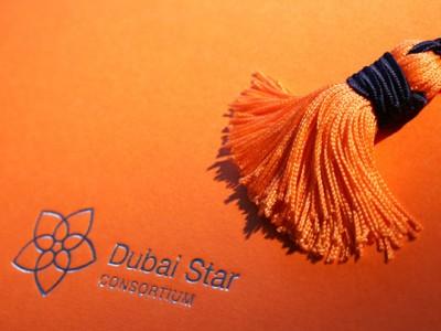 Identité visuelle Dubai Star Consortium, Affinity Line, metro Dubai