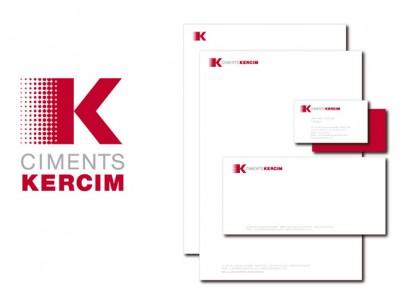 Identité Visuelle Ciments Kercim par Patrick Brossollet IDEAS