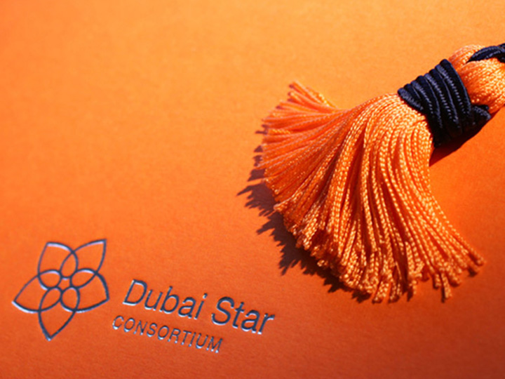 Identité de marque Dubai Star Consortium par Patrick Brossollet IDEAS