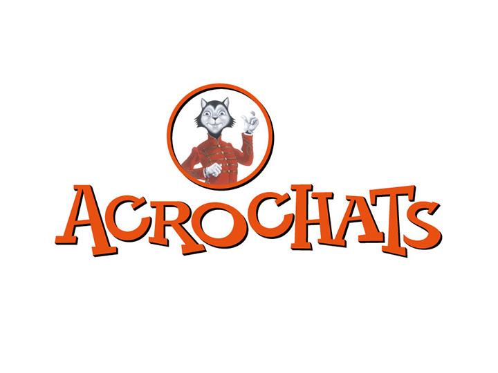 Logotype Acrochats par Patrick Brossollet IDEAS